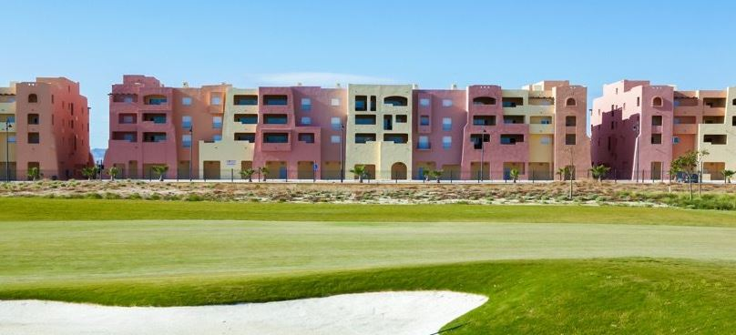 The Boulevard Golf Side View Outside Mar Menor Golf Resort