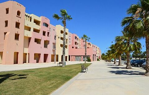 The Boulevard Front View Outside Mar Menor Golf Resort